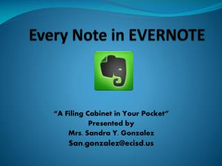Every Note in EVERNOTE