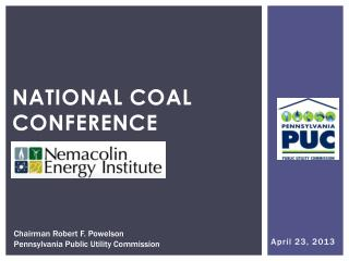 National Coal Conference
