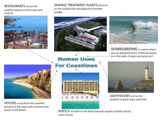 Human Uses For Coastlines