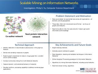 Scalable Mining on Information Networks