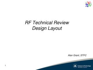 RF Technical Review Design Layout