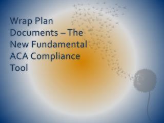 Wrap Plan Documents – The New Fundamental ACA Compliance Tool