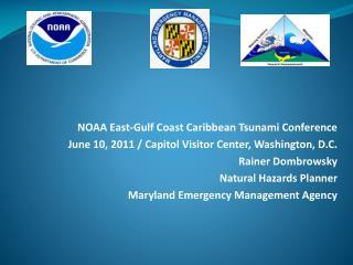 NOAA East-Gulf Coast Caribbean Tsunami Conference