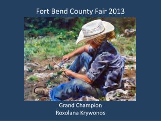Fort Bend County Fair 2013