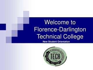 Welcome to  Florence-Darlington Technical College