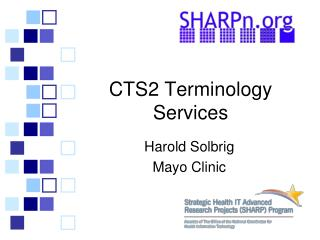 CTS2 Terminology Services