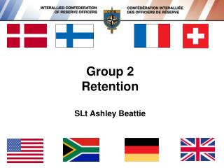 Group 2  Retention SLt Ashley Beattie