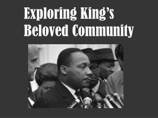 Exploring King's Beloved Community