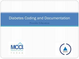 Diabetes Coding and Documentation
