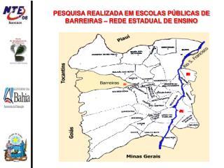 PESQUISA REALIZADA EM ESCOLAS P BLICAS DE BARREIRAS   REDE ESTADUAL DE ENSINO