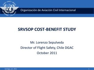 SRVSOP COST-BENEFIT STUDY