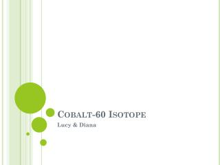 Cobalt-60 Isotope