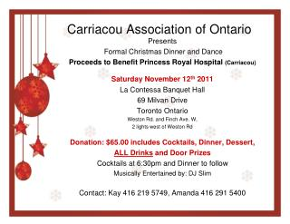 Carriacou Association of Ontario