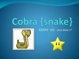 Cobra {snake}