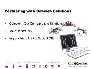 Partnering with Cobweb Solutions