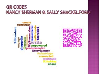 QR Codes Nancy Sherman & Sally Shackelford