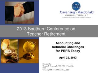 2013 Southern Conference on Teacher  Retirement
