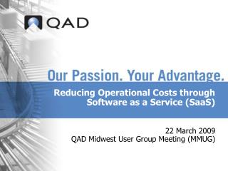 Reducing Operational Costs through Software as a Service SaaS