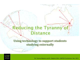 Reducing the Tyranny of Distance