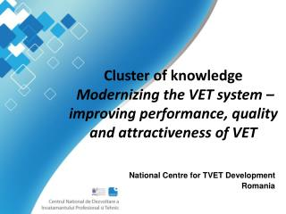 National Centre for TVET Development Romania