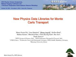 New Physics Data Libraries for Monte Carlo Transport