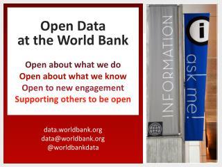 data.worldbank data@worldbank @ worldbankdata