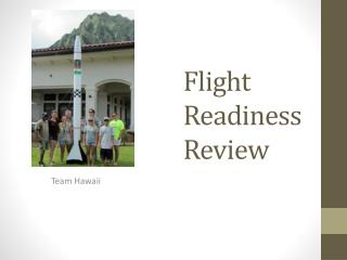 Flight  Readiness Review