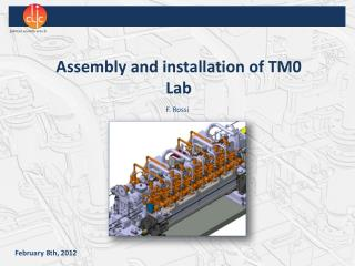 Assembly and installation of TM0 Lab