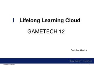 Lifelong Learning  Cloud