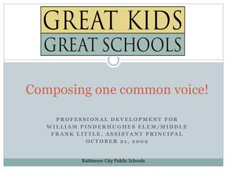Composing one common voice!