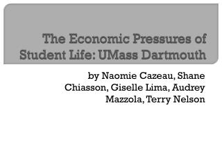 The Economic Pressures of Student Life: UMass Dartmouth