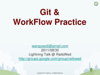 Git  &  Work Flow Practice
