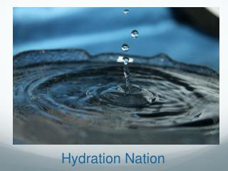 Hydration Nation