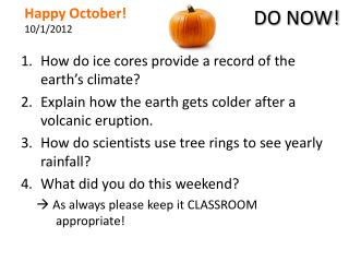 Happy October! 10/1/2012