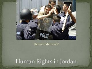Human Rights in Jordan
