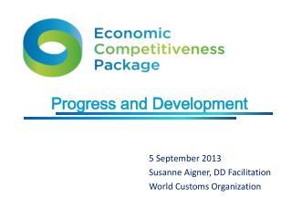 Progress and Development