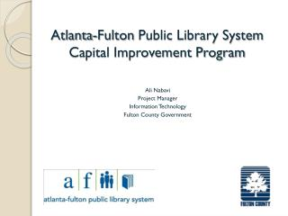 Ali  Nabavi Project Manager Information Technology Fulton County Government