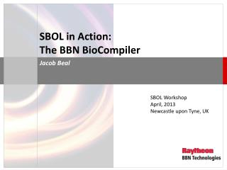 SBOL in Action: The BBN BioCompiler