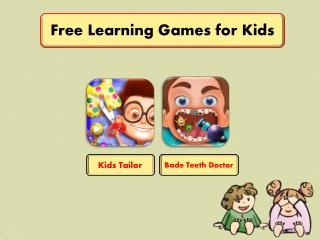 Free Learning Games for Kids