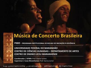 Música  de Concerto  Brasileira