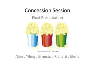 Concession Session