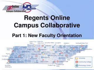 Regents Online  Campus Collaborative Part 1: New Faculty Orientation