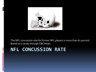NFL Concussion Rate