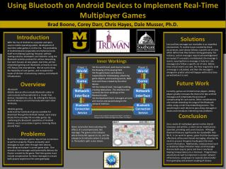 Using Bluetooth on Android Devices to Implement Real-Time Multiplayer Games