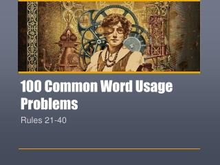 100 Common Word Usage Problems