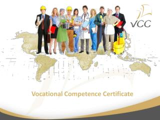 Vocational Competence Certificate
