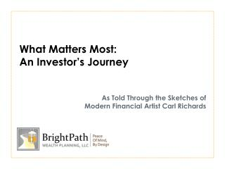 What Matters Most: An Investor's Journey As Told Through the Sketches of