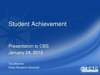 Student Achievement
