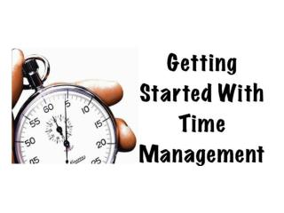 How  to Develop a System of  Time  Planning and Management
