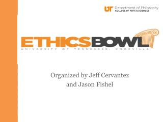Welcome to the Ethics Bowl Coaches Clinic